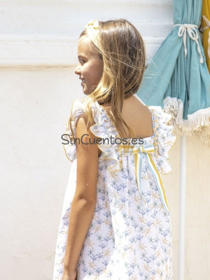 Vestido Palm Tree de eve Children Vestidos